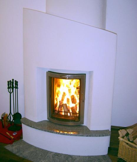 Original biofire kamine brennholz sparen und gesunde - Kamin rustikal ...