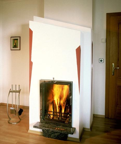 Biofire-Kamin-Scheibenspülung